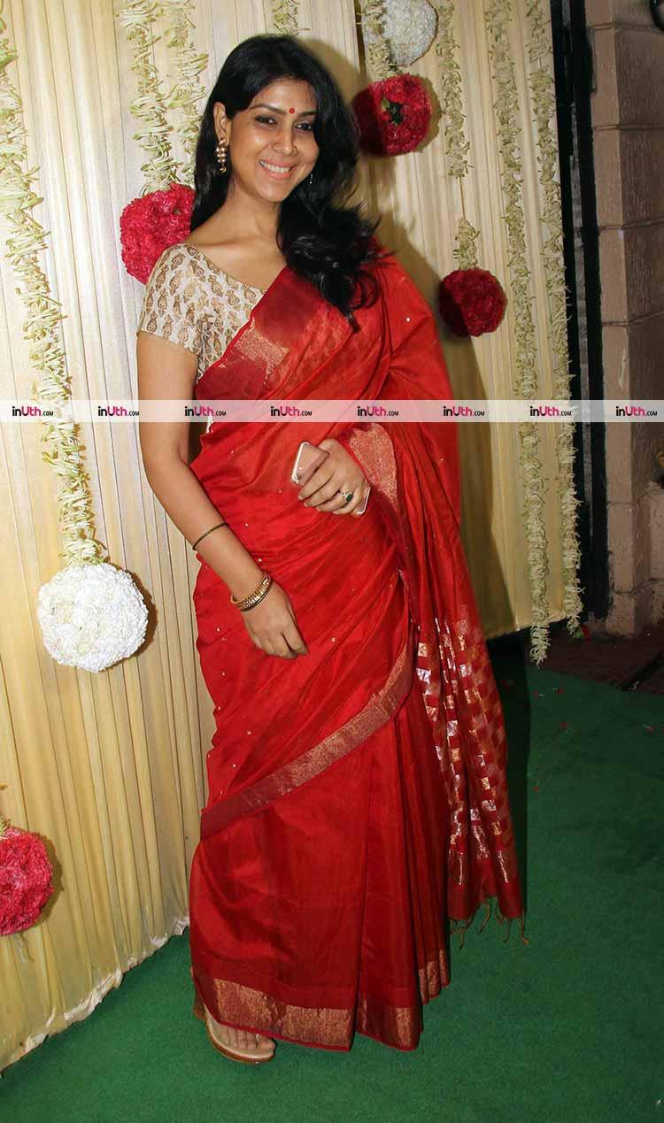 Sakshi Tanwar at Ekta Kapoor's Diwali party