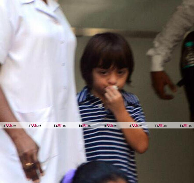 AbRam Khan being effortlessly cute