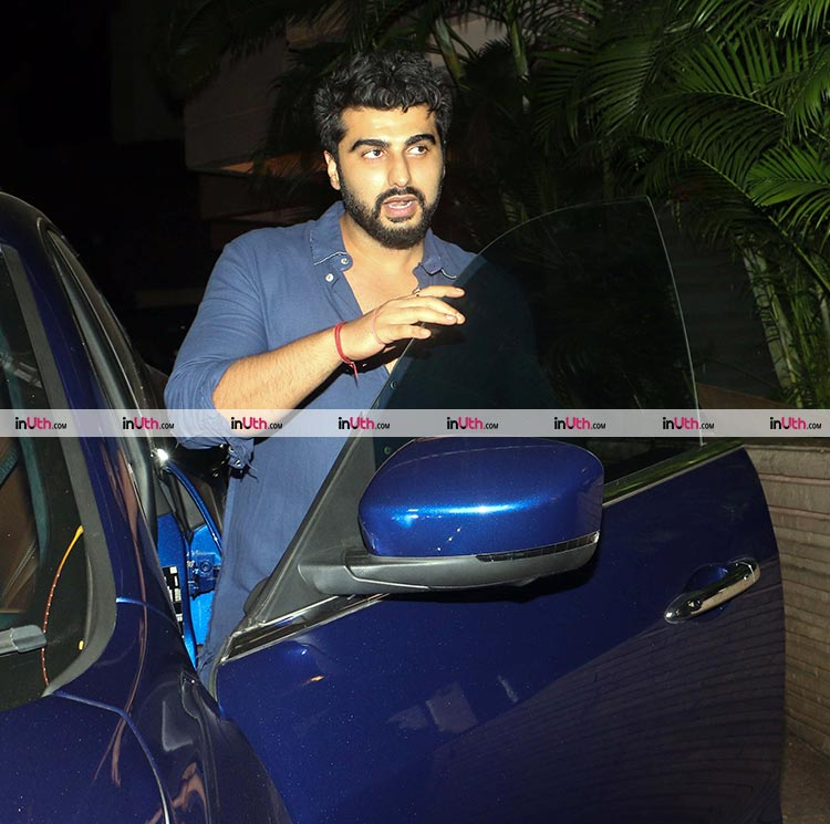 Arjun Kapoor spotted at Akshay Kumar's Diwali party