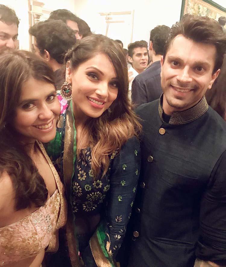 Bipasha Basu, Karan Singh Grover at Ekta Kapoor's Diwali party