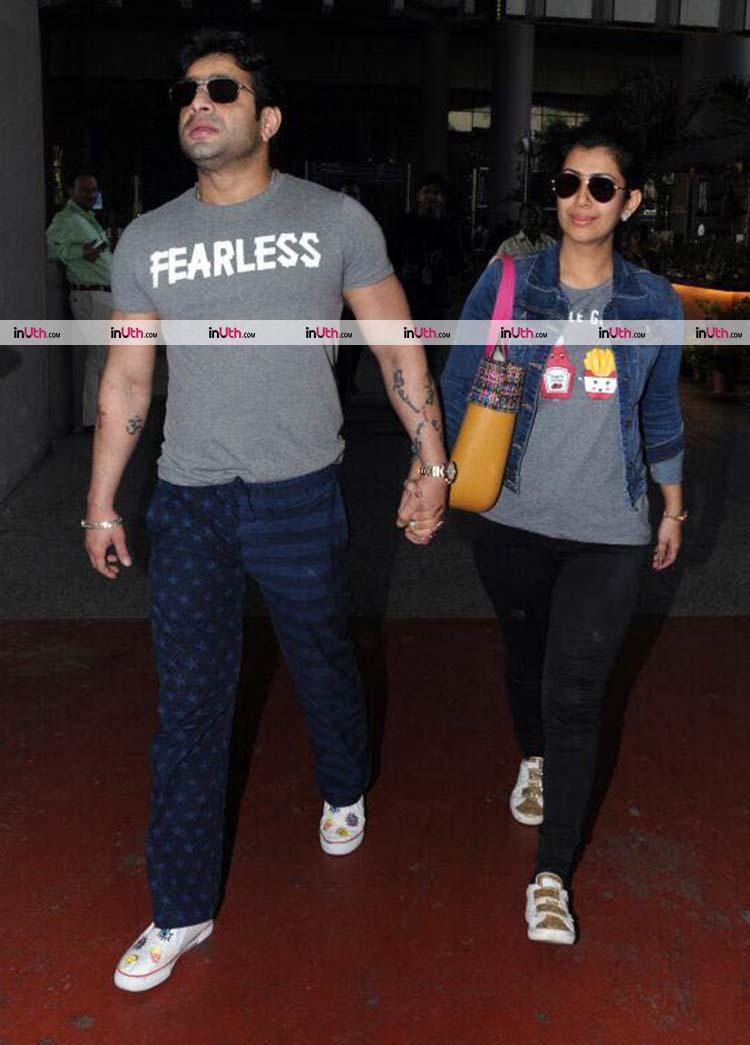 Karan Patel and Ankita Bhargava return from Budapest