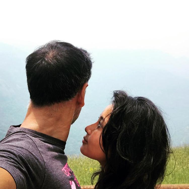 Milind Soman has found his heaven in girlfriend Ankita Konwar