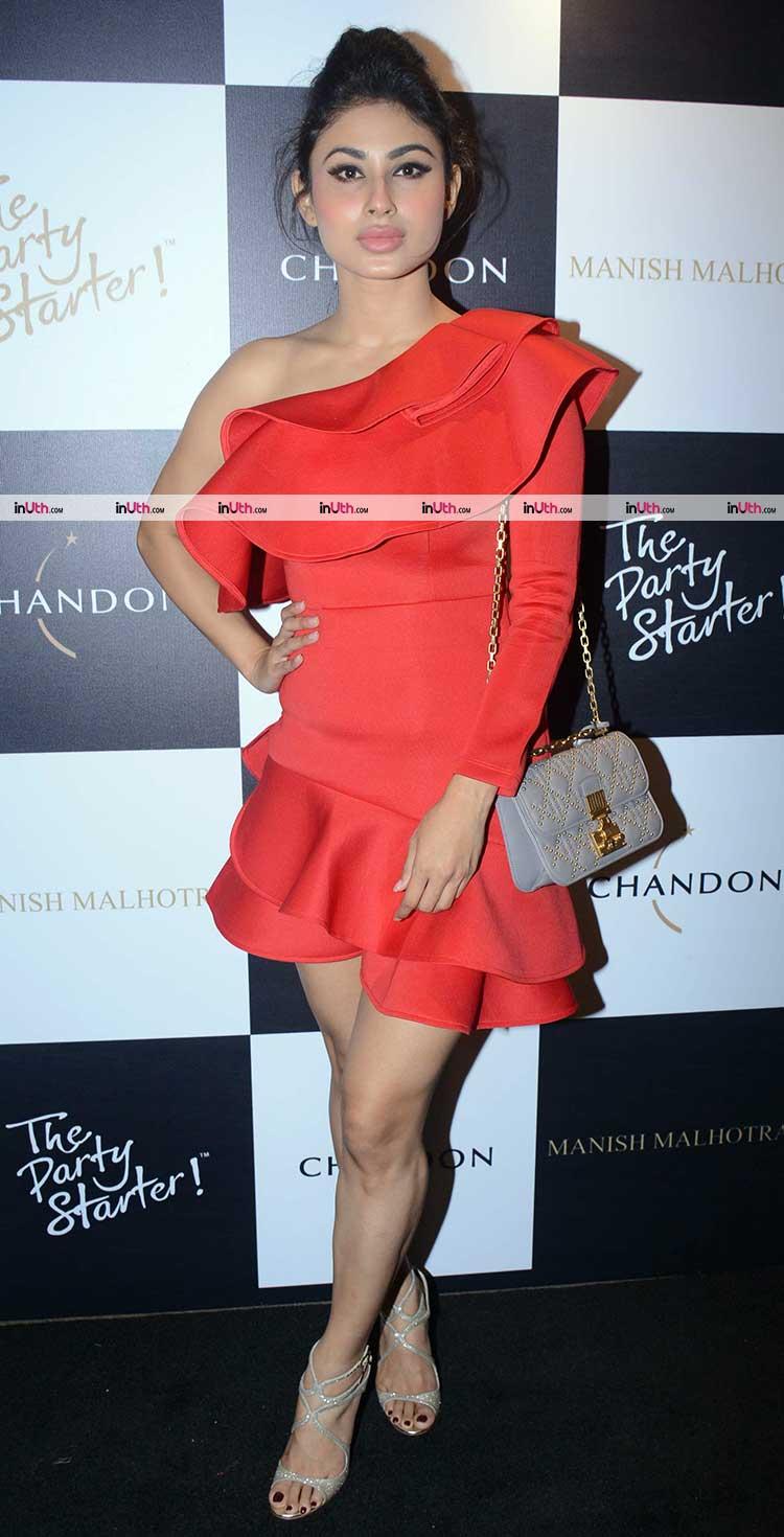 Mouni Roy dazzling the Manish Malhotra party in style