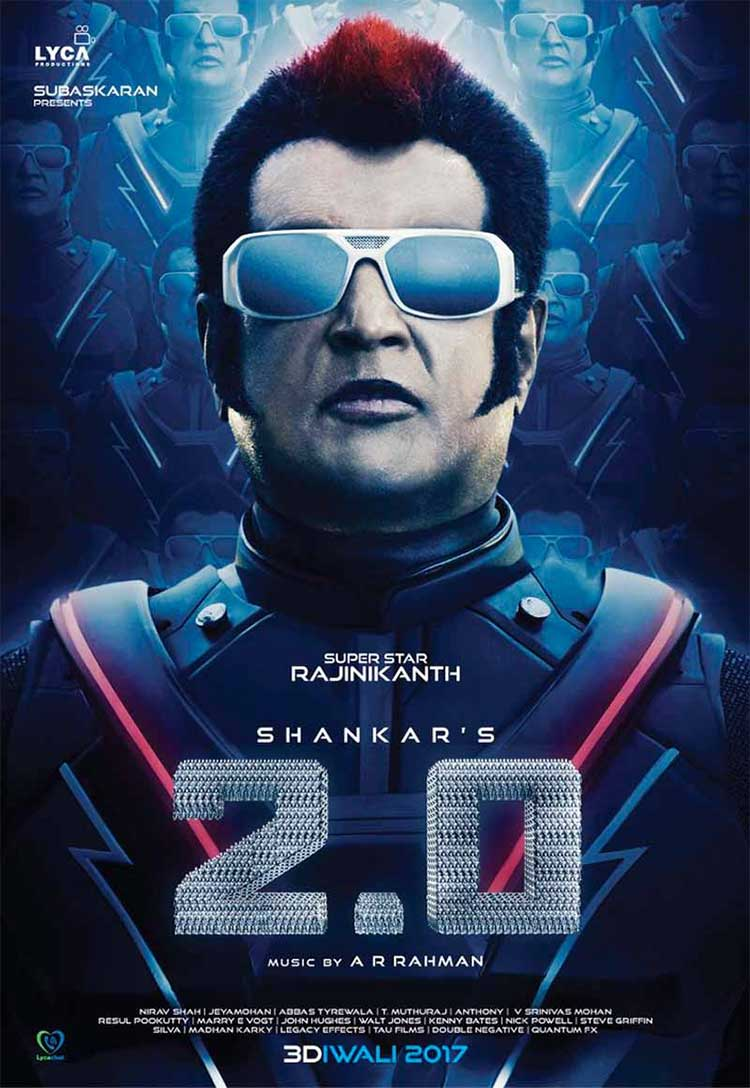Rajinikanth's first look from Robot 2.0 is spectacular