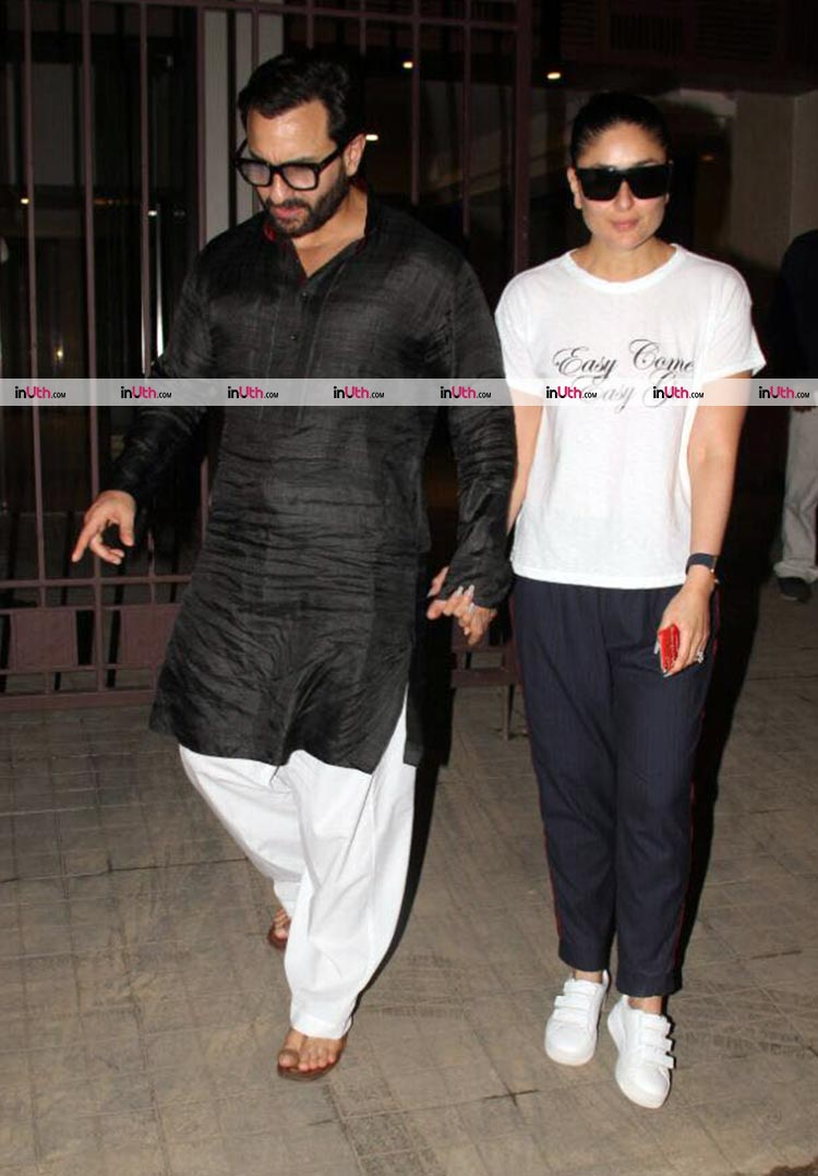 Saif Ali Khan and Kareena Kapoor celebrate their 5th wedding anniversary