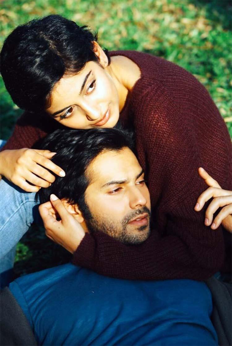 Varun Dhawan and Banita Sandhu make a cute pair in October
