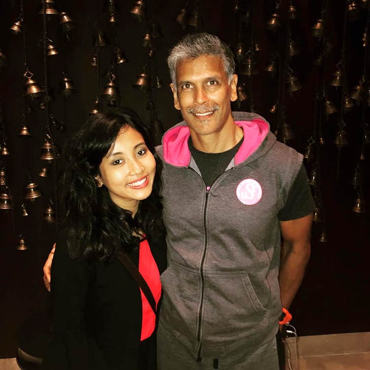 Ankita Konwar and Milind Soman look amazing in this pic