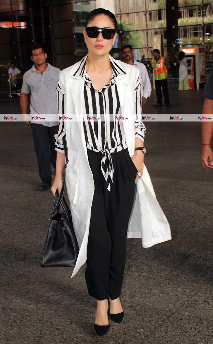 Kareena Kapoor is an airport look pro