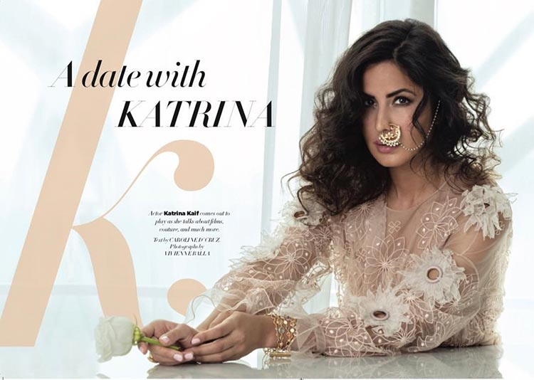 Katrina Kaif looks celestial in her latest photoshoot