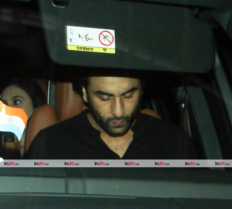 Ranbir Kapoor spotted at Akshay Kumar's Diwali party