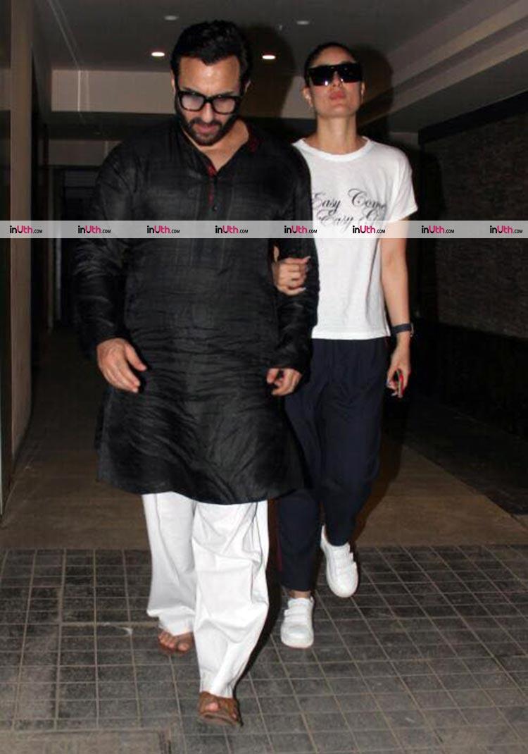 Saif Ali Khan and Kareena Kapoor's 5th wedding anniversary