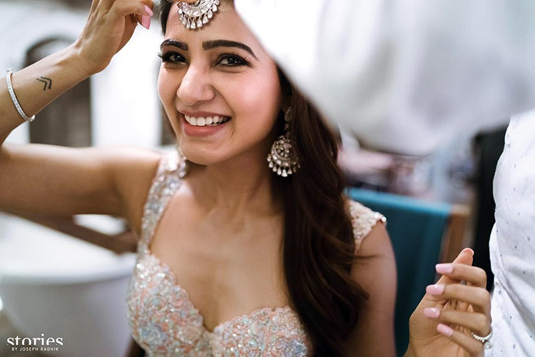 Samantha Ruth Prabhu is the prettiest bride ever