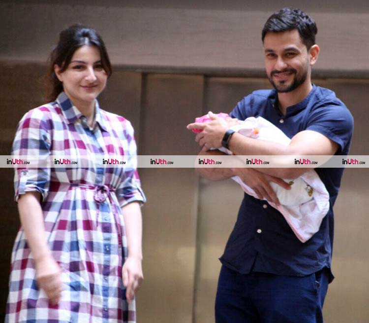 Soha Ali Khan and Kunal Khemu have named their daughter Inaaya