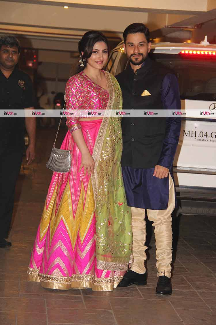 Soha Ali Khan and Kunal Khemu throw a Diwali party