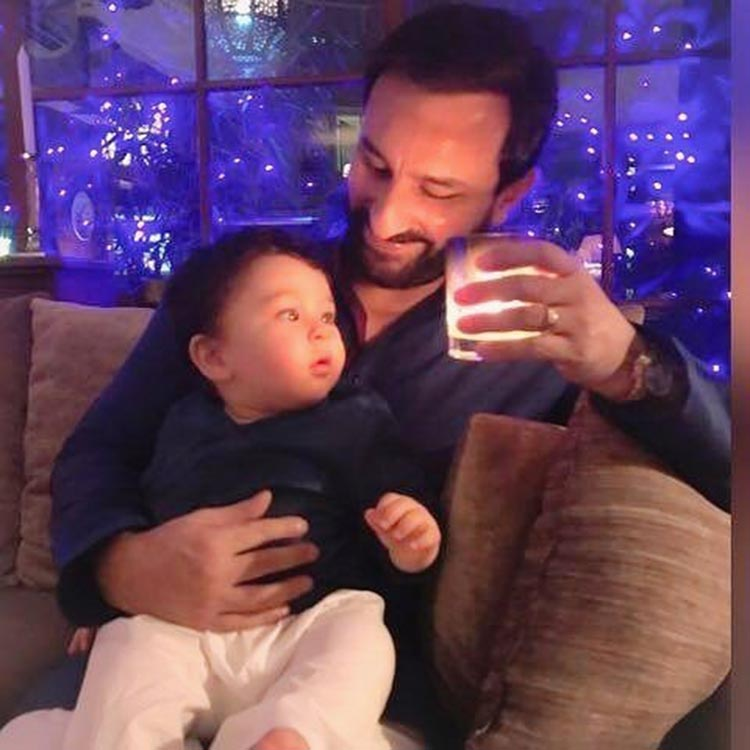 Taimur Ali Khan is fascinated with the Diwali lights
