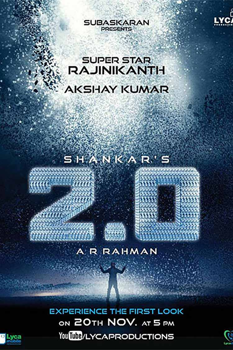 The first look of Robot 2.0 is enthralling
