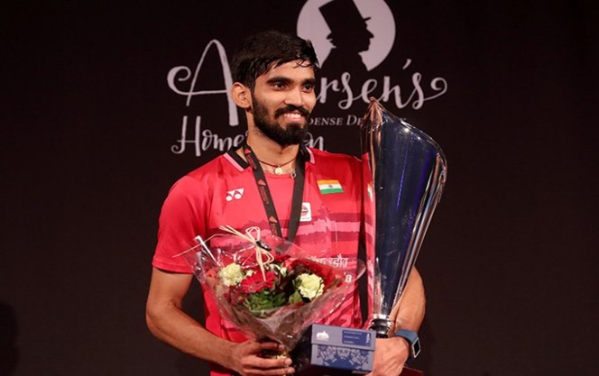 Denmark Open Final: Kidambi Srikanth beats Lee Hyun-Il to win his 3rd Superseries Premiertitle
