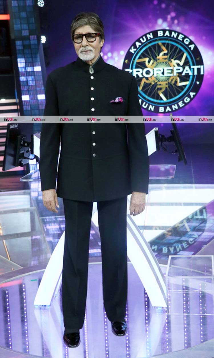 Amitabh Bachchan is hosting the season 9 of Kaun Banega Crorepati