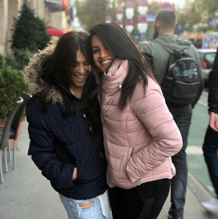 Ekta Kapoor and Anita Hassanandani caught candid