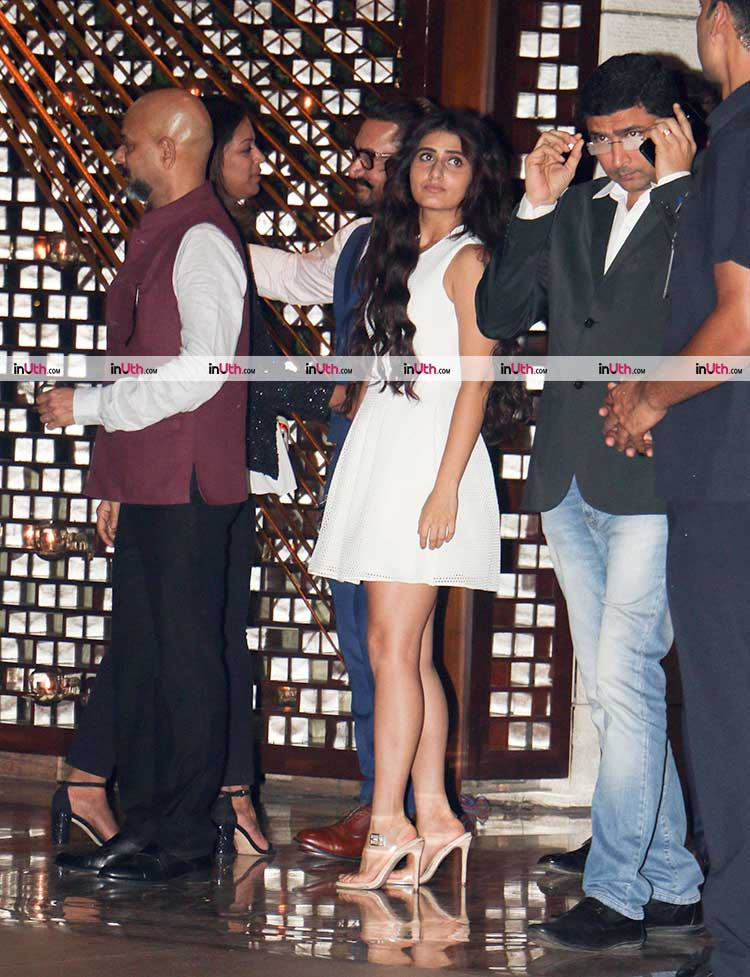 Fatima Sana Shaikh and Aamir Khan at Ambani's party