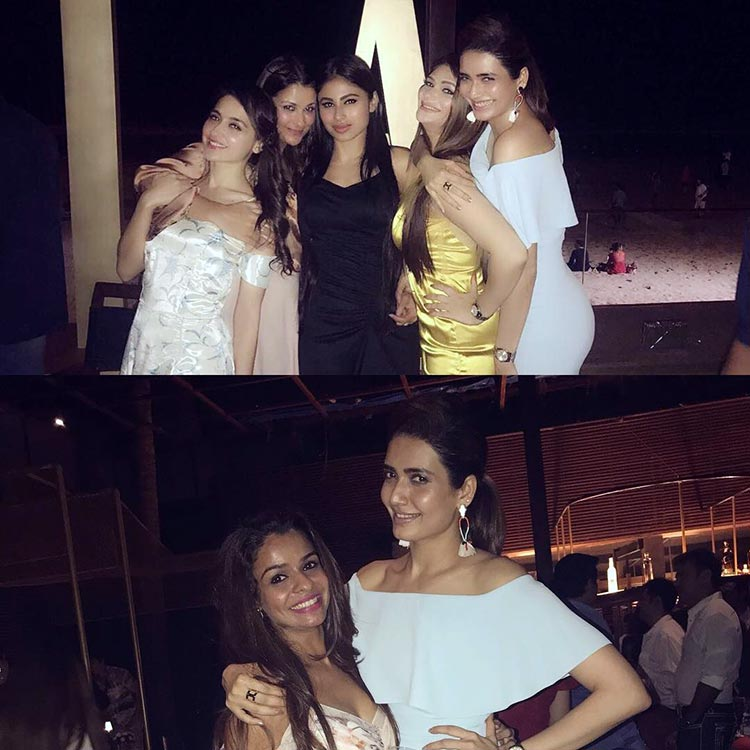 Mouni Roy's fantastic party night with her friends