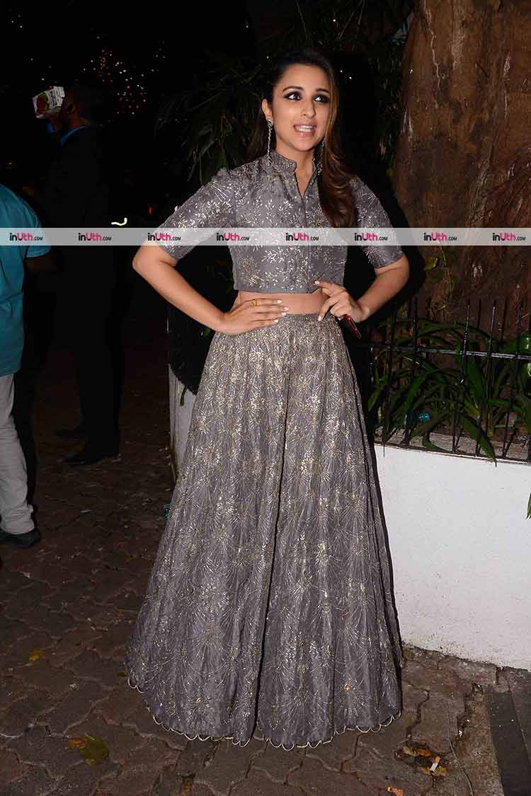 Parineeti Chopra at Aamir Khan's Diwali bash
