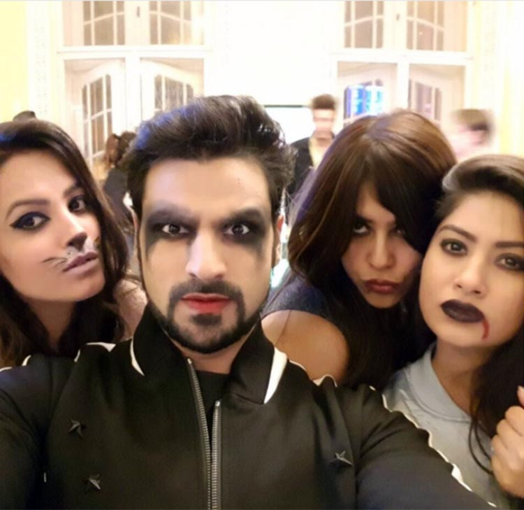 Yeh Hai Mohabbatein Team is enjoying Halloween in Budapest