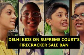 Kids on SC's decision on ban on sale of firecrackers