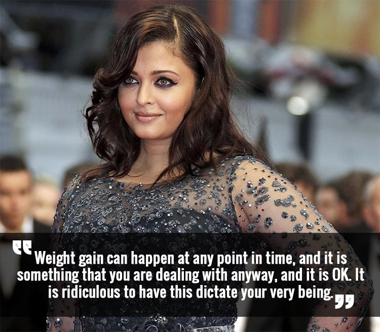 Aishwarya Rai spreading some body positivity