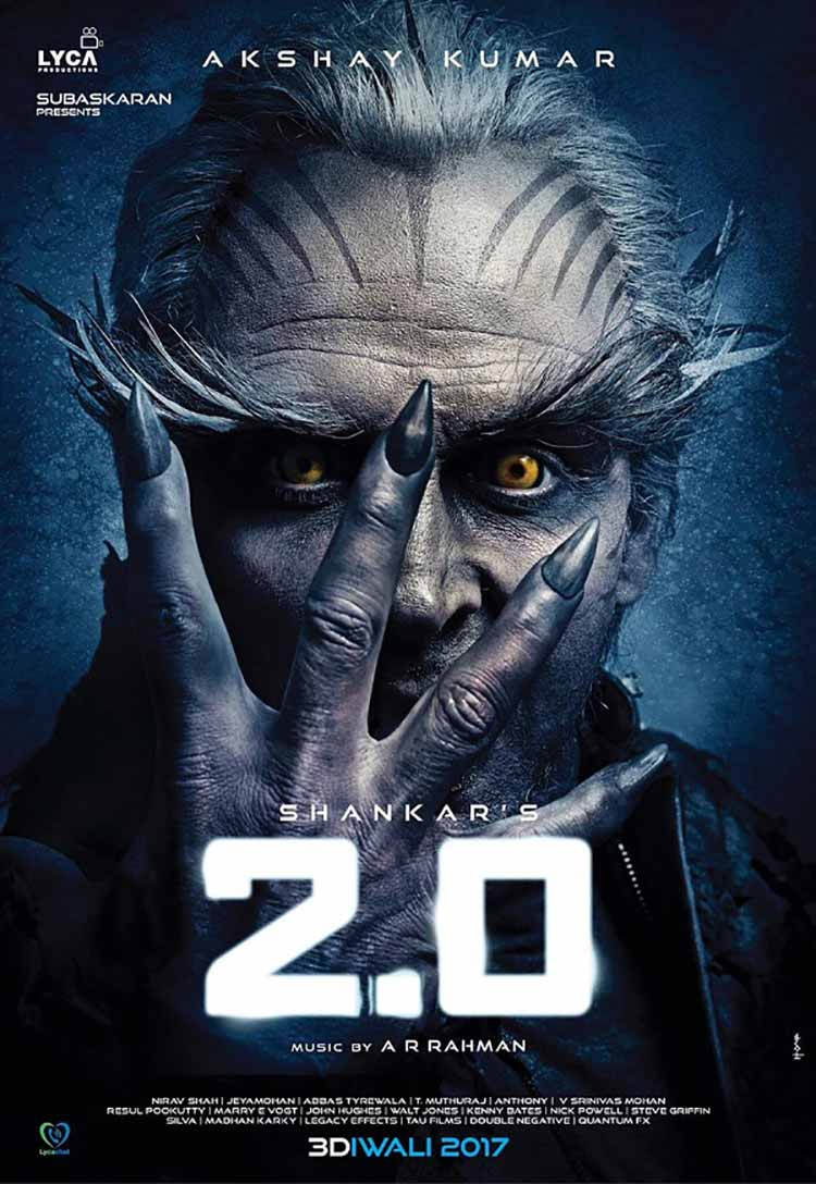 Akshay Kumar's first look from Robot 2.0 is jaw-dropping