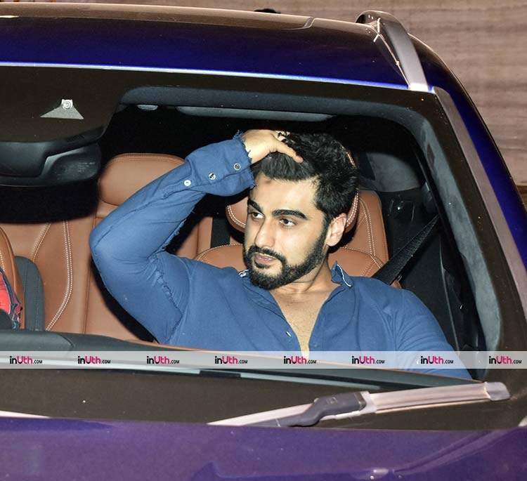 Arjun Kapoor at Akshay Kumar's Diwali party on Thursday night