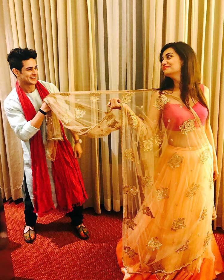 Hot Photos Of Priyank Sharma And Divya Agarwal Inuth