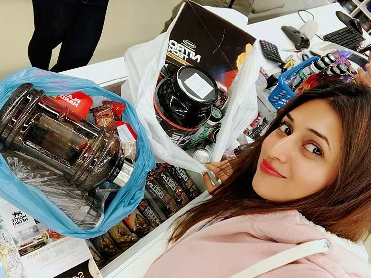 Divyanka Tripathi shares a glimpse of her shopping spree in Hungary