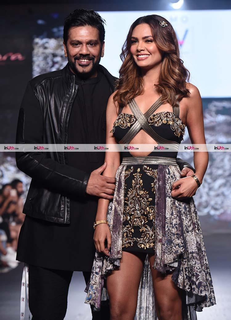 Esha Gupta and Rocky Star at India Beach Fashion Week