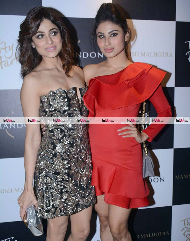 Mouni Roy and Shamita Shetty slaying at a party