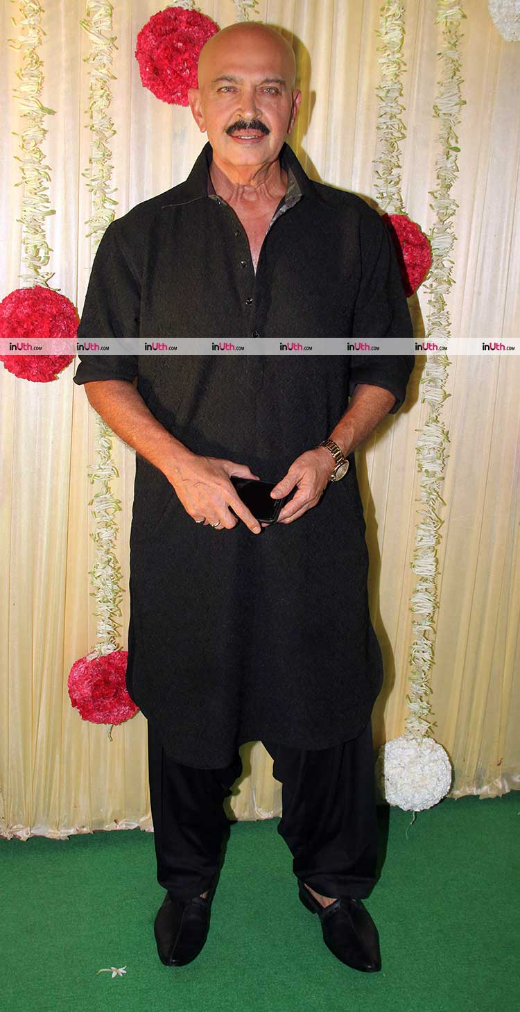 Rakesh Roshan at Ekta Kapoor's Diwali party