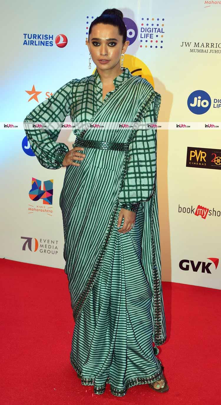 Sayani Gupta on the MAMI film festival 2017 red carpet