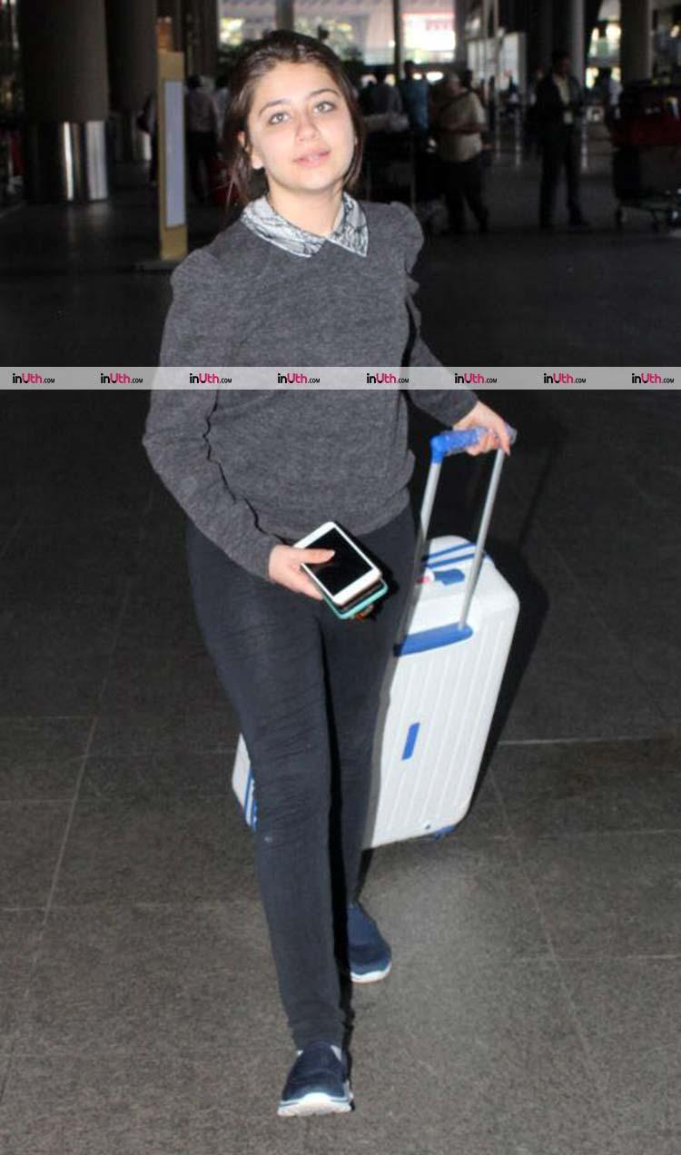Aditi Bhatia return to Mumbai from Budapest