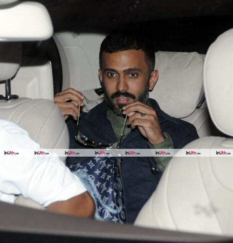 Anand Ahuja sharing a ride with Sonam Kapoor
