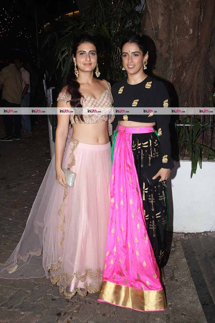 Dangal girls at Aamir Khan's Diwali party