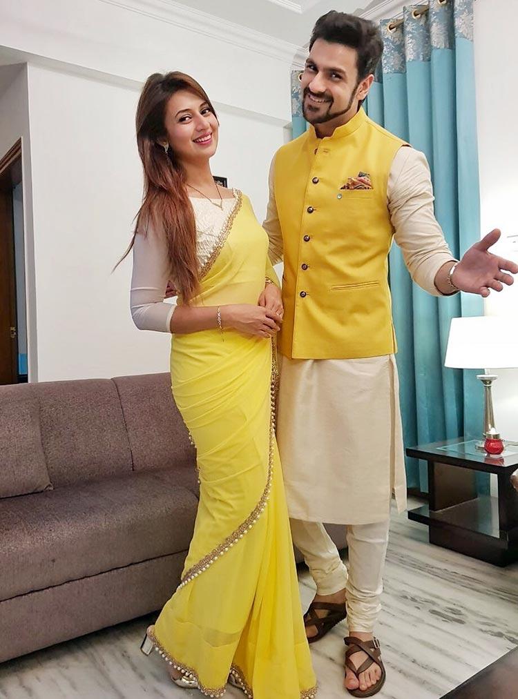 Divyanka Tripathi with husband Vivek Dahiya