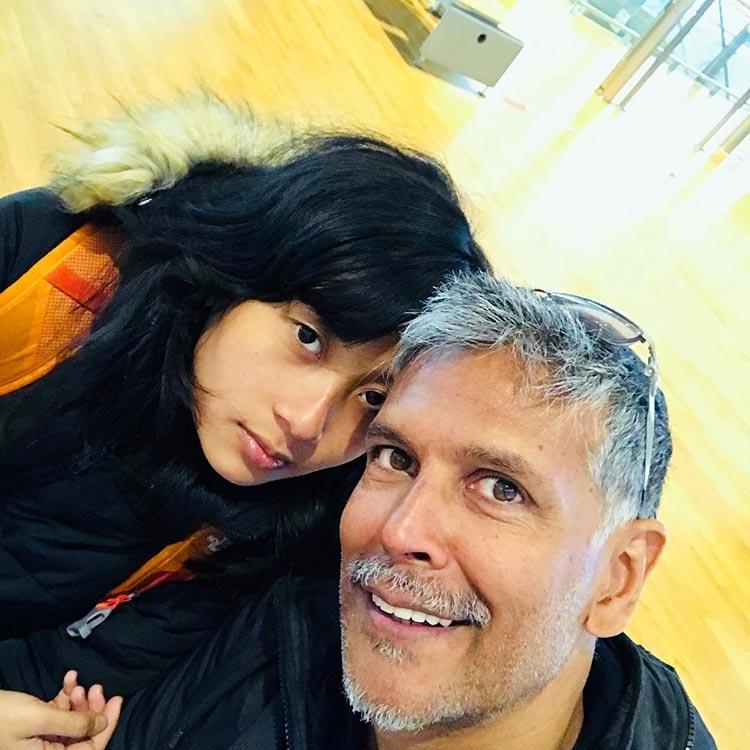Milind Soman and Ankita Konwar look amazing in this selfie