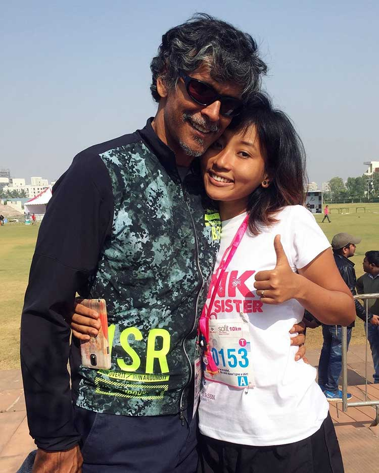 Milind Soman has found his soulmate in Ankita Sonwar