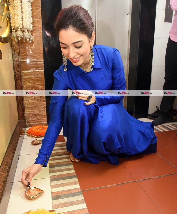 Tamannah Bhatia prepping up for Diwali