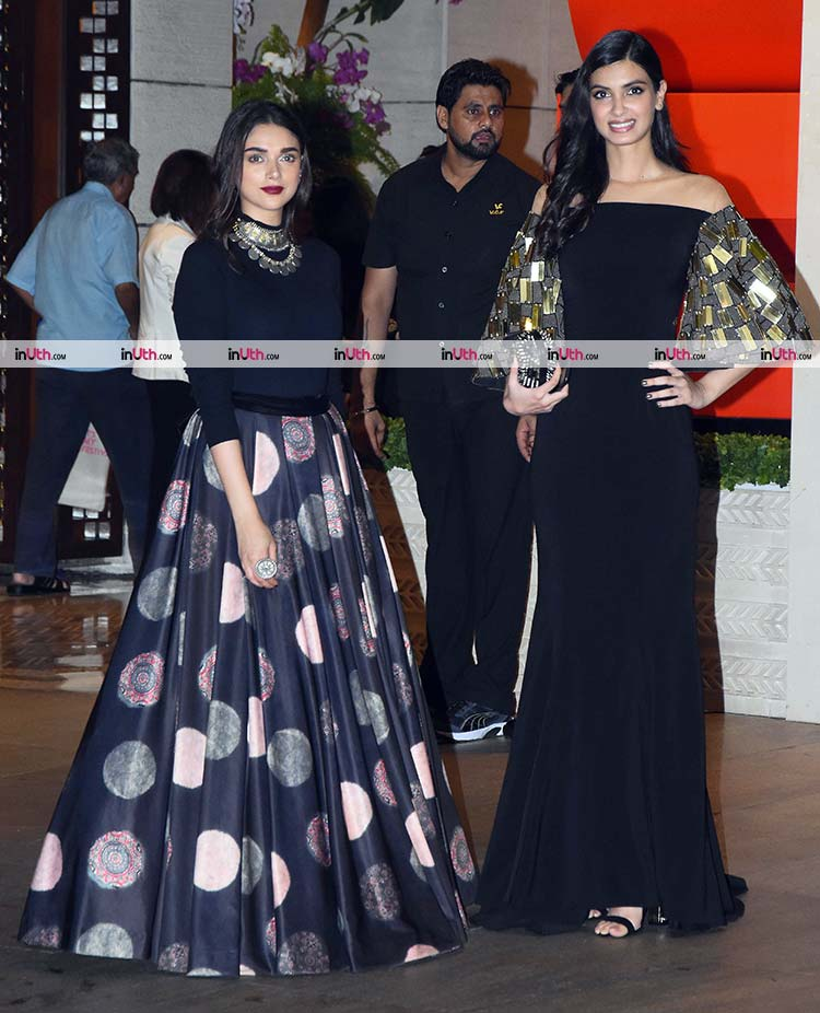 Aditi Rao Hydari and Diana Penty at Ambani's party