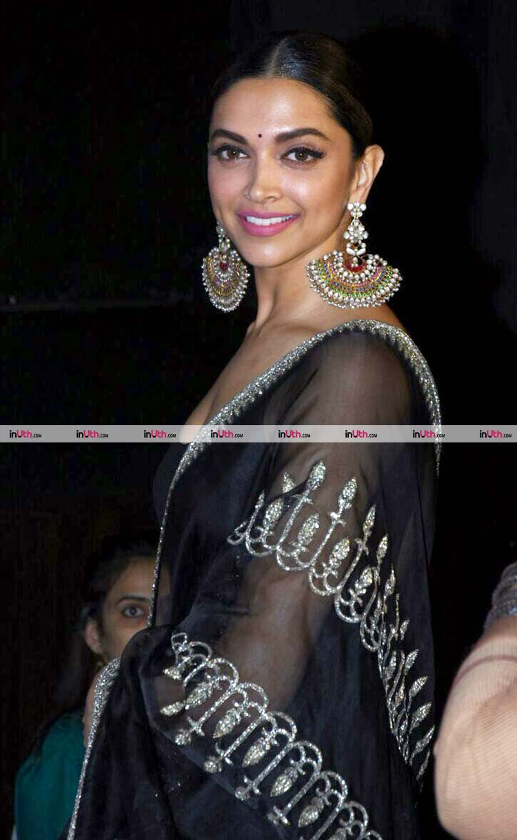 Deepika Padukone at the 3D trailer launch of Bhansali's Padmavati