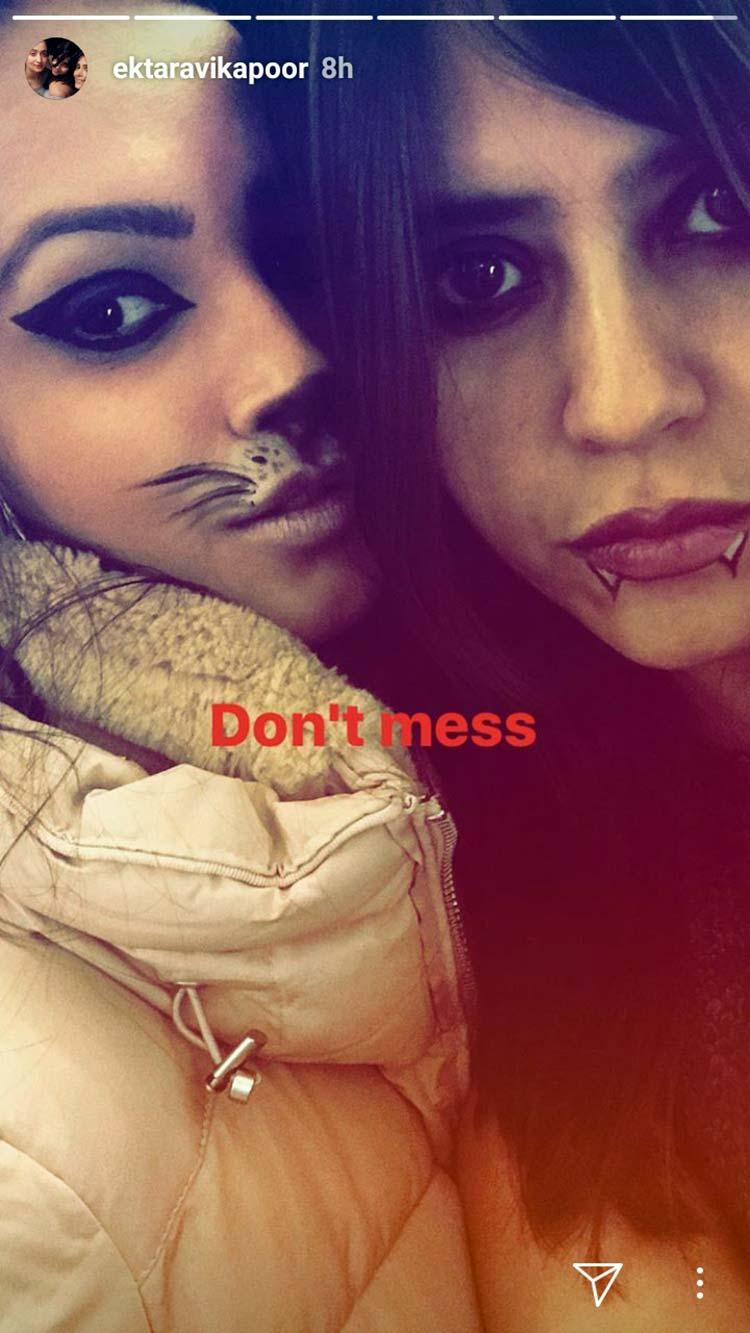 Ekta Kapoor and Anita Hassanandani's Halloween in Budapest