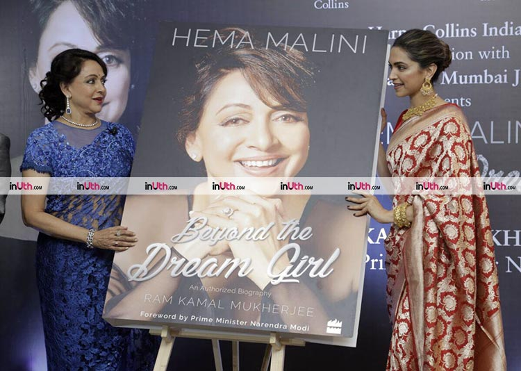 Hema Malini and Deepika Padukone unveil Beyond The Dream Girl