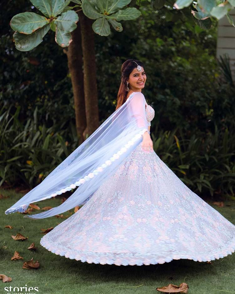 Samantha Ruth Prabhu looks straight out from a fairytale in her pre-wedding pics