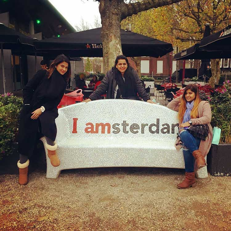 Jennifer Winget in Amsterdam